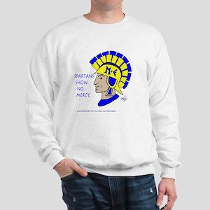 Spartan Melvin - No Mercy! Sweatshirt