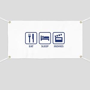 Eat Sleep Movies Banner