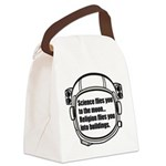 Science flies you to the moon Canvas Lunch Bag