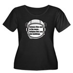 Science flies you to the moon Women's Plus Size Sc
