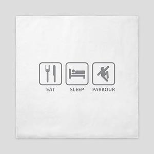 Eat Sleep Parkour Queen Duvet
