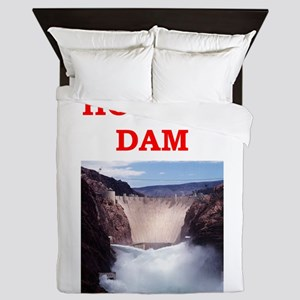 hoover dam Queen Duvet