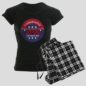 Conservative Republican Women's Dark Pajamas