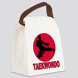 old tae kwon do(pink) Canvas Lunch Bag