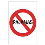 No Pajamas Large Poster