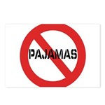 No Pajamas Postcards (Package of 8)