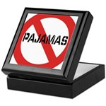 No Pajamas Keepsake Box
