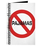 No Pajamas Journal