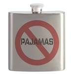 No Pajamas Flask