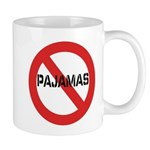 No Pajamas Mug