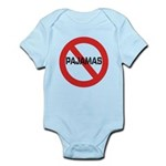 No Pajamas Infant Bodysuit