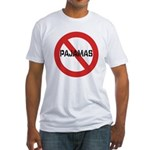 No Pajamas Fitted T-Shirt