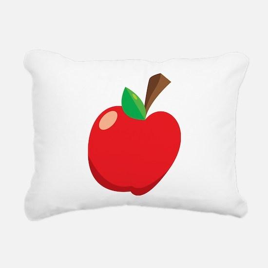 Apple Rectangular Canvas Pillow