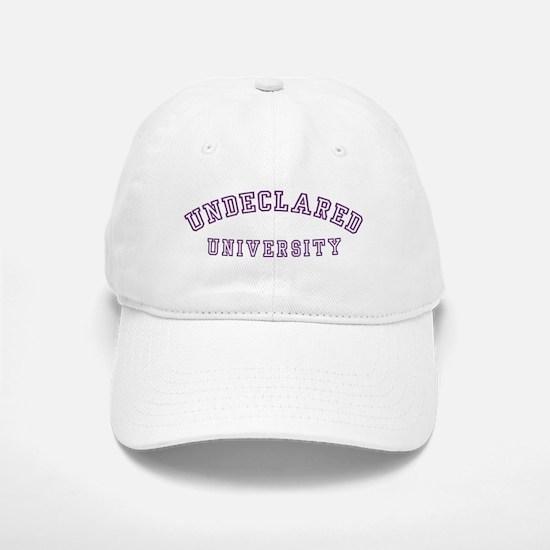 Undeclared University Baseball Baseball Cap