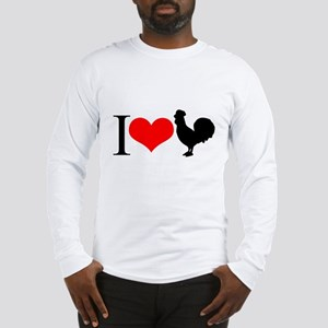 I love Cock Long Sleeve T-Shirt