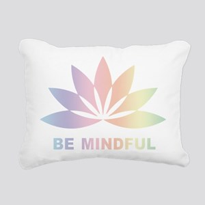 Be Mindful Rectangular Canvas Pillow
