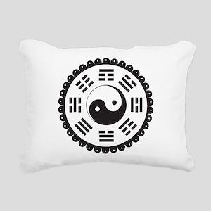Bagua Rectangular Canvas Pillow