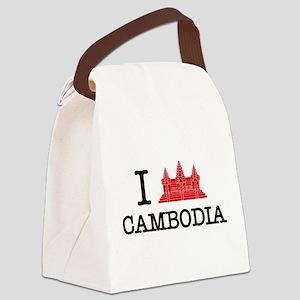I Angkor (Love) Cambodia Canvas Lunch Bag