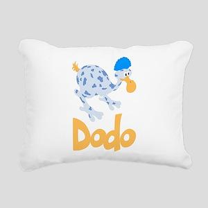 Cute Dodo Rectangular Canvas Pillow