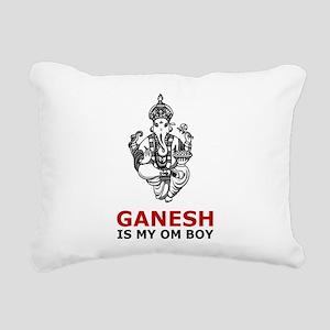 Hinduism Ganesh Is My Om Boy Rectangular Canvas Pi