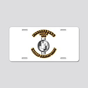 Navy - Rate - EA Aluminum License Plate