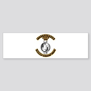 Navy - Rate - EA Sticker (Bumper)