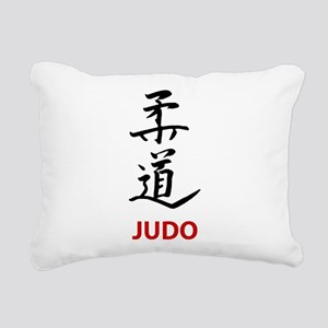 Judo Rectangular Canvas Pillow