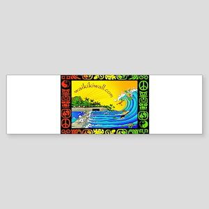 Waikiki Wall Sticker (Bumper)