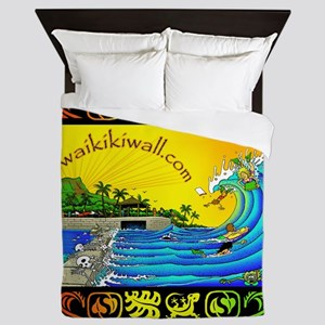 Waikiki Wall Queen Duvet