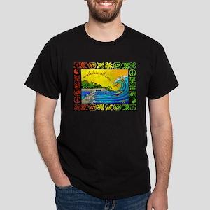 Waikiki Wall Dark T-Shirt