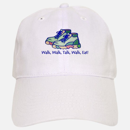 Walk, Talk, Eat Baseball Baseball Cap