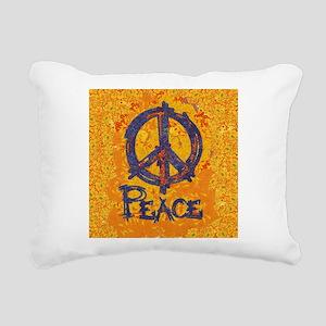Gustav Klimt Peace Rectangular Canvas Pillow