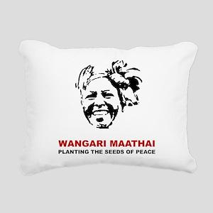 Wangari Maathai Rectangular Canvas Pillow