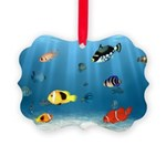 Oceans Of Fish Picture Ornament