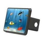 Oceans Of Fish Rectangular Hitch Cover