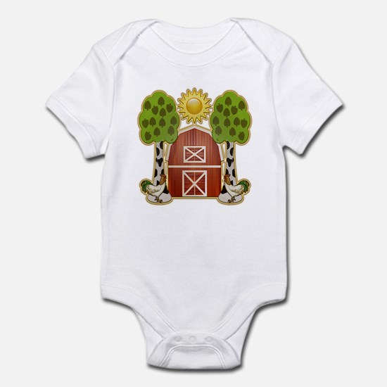 Chickens at Noon Infant Bodysuit