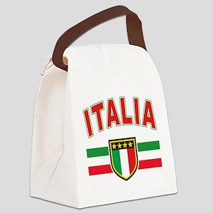 italia Canvas Lunch Bag