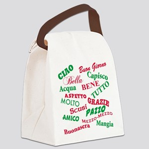 Italian sayings T-Shirt Canvas Lunch Bag