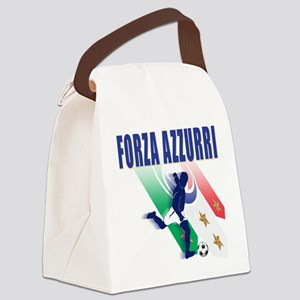2-italia soccer Canvas Lunch Bag