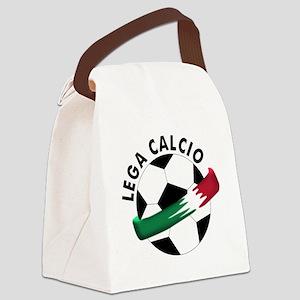lega calcio Canvas Lunch Bag