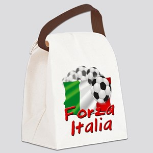 forza italia Canvas Lunch Bag