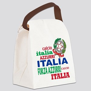 italian calcio Canvas Lunch Bag