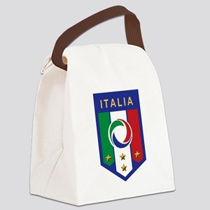 italian emblem Canvas Lunch Bag