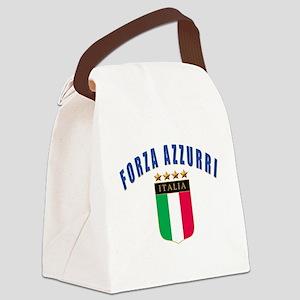 4-3-forza azzurri Canvas Lunch Bag