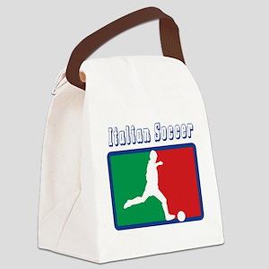 Italian soccer T-Shirt Canvas Lunch Bag