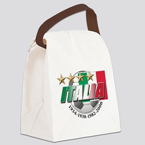 italia soccer T-Shirt Canvas Lunch Bag