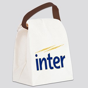 inter Canvas Lunch Bag
