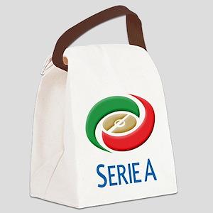 serie a(blk) Canvas Lunch Bag