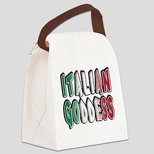 italian goddess T-Shirt Canvas Lunch Bag