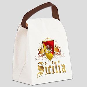 3-sicilian pride Canvas Lunch Bag